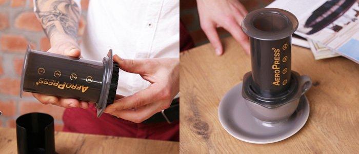 AEROPRESS. Kohvisemu