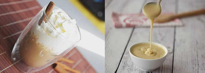 Kaneeliga jääkohv. Kohvisemu