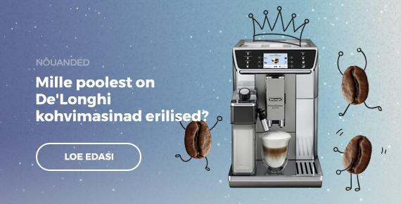 Mille poolest on De'Longhi kohvimasinad erilised?