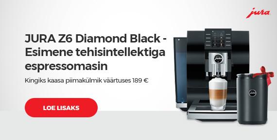 "Kohvimasin JURA ""Z6 Diamond Black"""