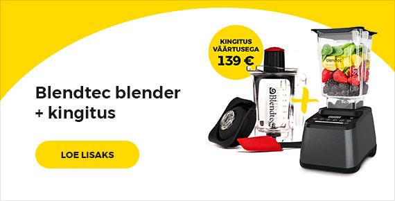 Blendtec blender + kingitus