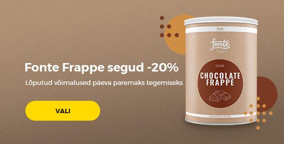 Fonte Frappe segud -20%