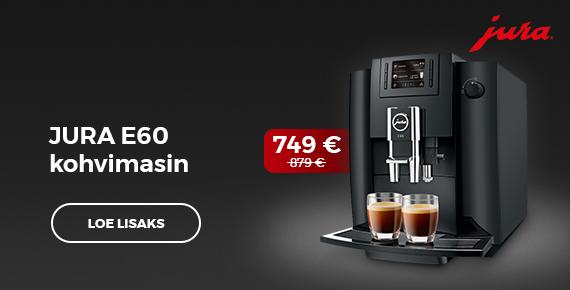 Jura E60 kohvimasin 749 €