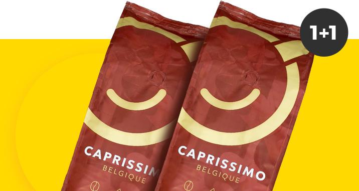 Osta ükskõik milline Caprissimo kohv ja saa teine tasuta