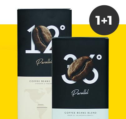 2 kg Parallel kohviube ühe hinnaga