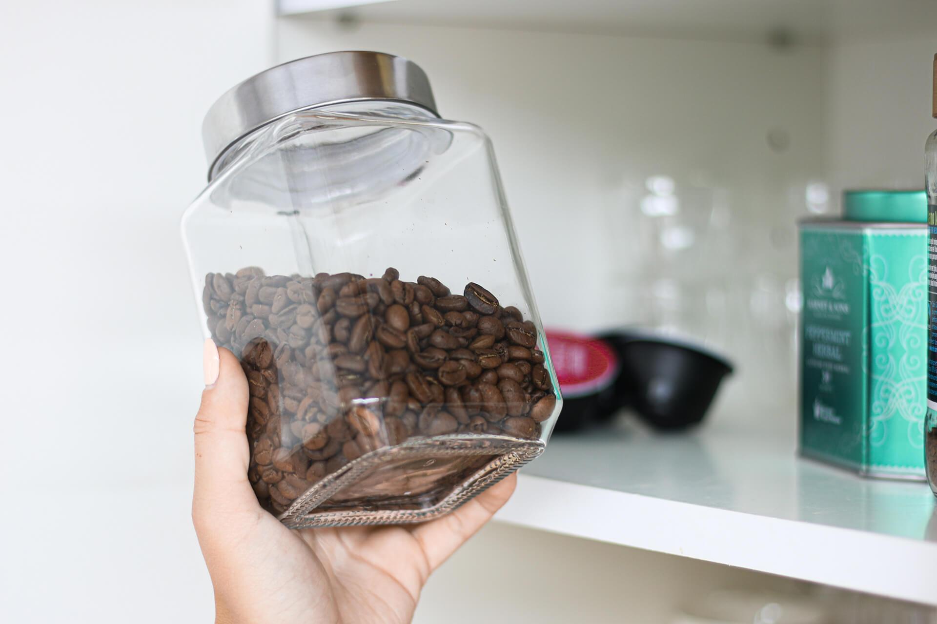 Kuidas kodus kohviube säilitada