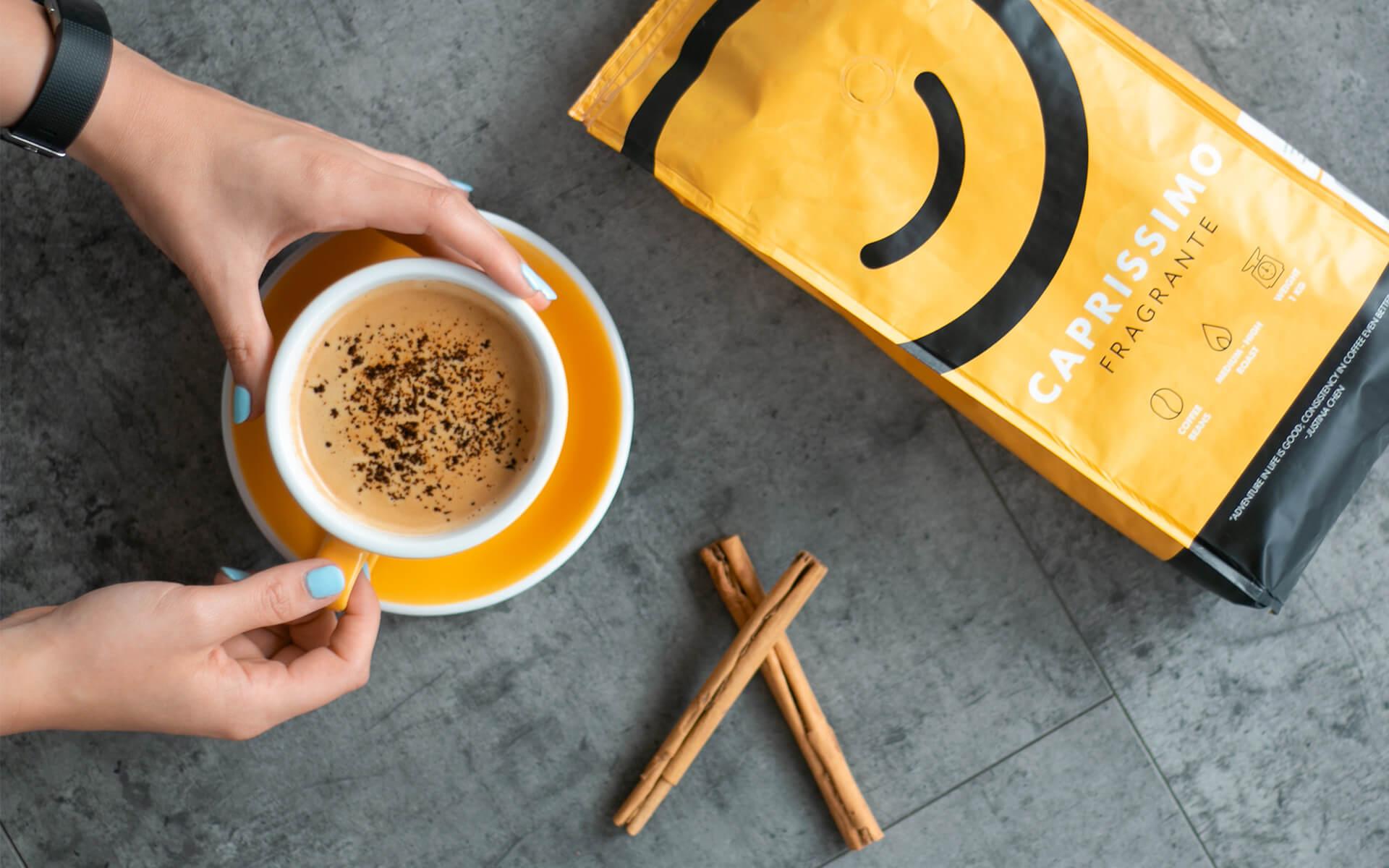 Must kohv kaneeliga