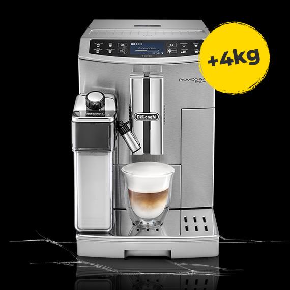 De'Longhi kohvimasin + 4 kg kohvi