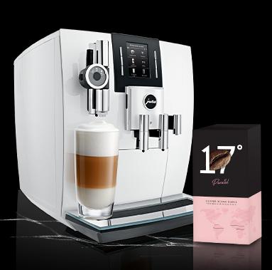 JURA J6 White ainult 1549€ + Parallel kohv kingituseks