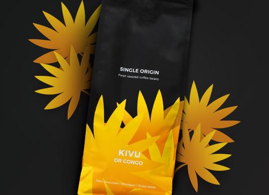 "Single origin kohvioad ""DR Congo Kivu"", 1 kg"