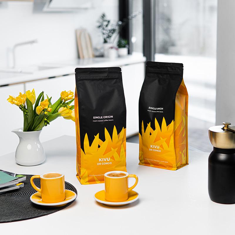 Single origin kohvioad DR Congo Kivu