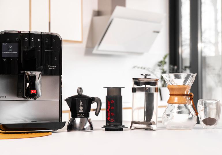 Kohvivalmistusmeetodid
