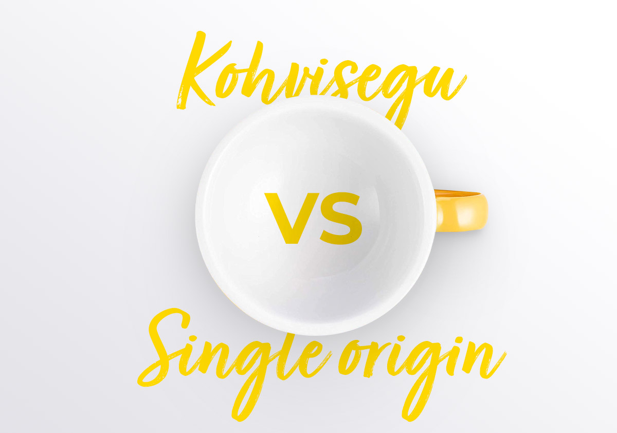 Kohvisegud ja single-origin
