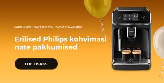 Erilised Philips kohvimasinate pakkumised