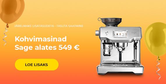 Kohvimasinad Sage alates 549 €
