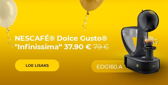 "Kohvimasin NESCAFÉ® Dolce Gusto® ""Infinissima EDG 160.A"" ainult 37.90 € 79 €"