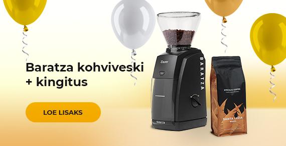 Baratza kohviveski + kingitus