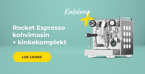 Rocket Espresso kohvimasin + kinkekomplekt